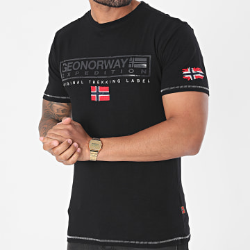 Geographical Norway - Tee Shirt Jasic Noir