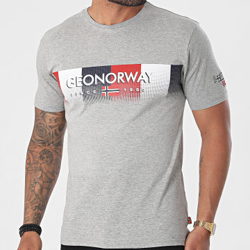Geographical Norway - Tee Shirt Jobody Gris Chiné