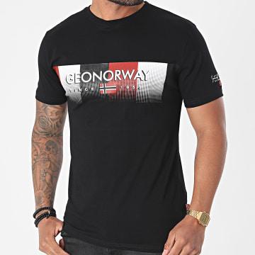 Geographical Norway - Tee Shirt Jobody Noir