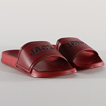 Jack And Jones - Claquettes Larry 12184280 Bordeaux