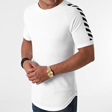 LBO - Tee Shirt Oversize Print 1588 Blanc