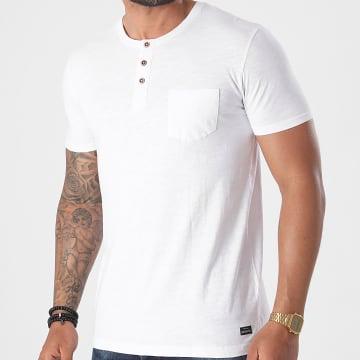 Tiffosi - Tee Shirt Poche Brian Blanc
