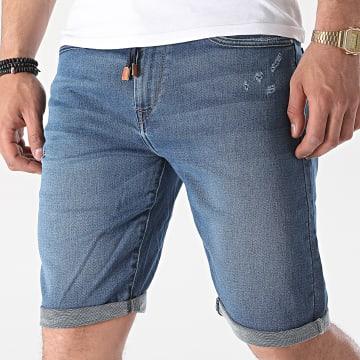 Tiffosi - Short Jean Slim Indigo 10039034 Bleu Denim