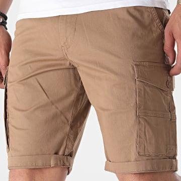 Tiffosi - Short Cargo Slim 10039078 Marron