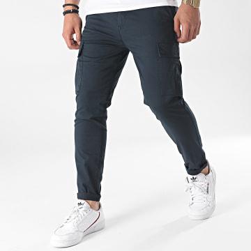 Tiffosi - Pantalon Cargo Slim Nosok 10037791 Bleu Marine