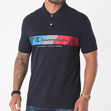 Champion - Polo Manches Courtes 21634 Bleu Marine