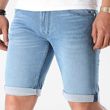 Indicode Jeans - Short Jean Commercial Bleu Denim