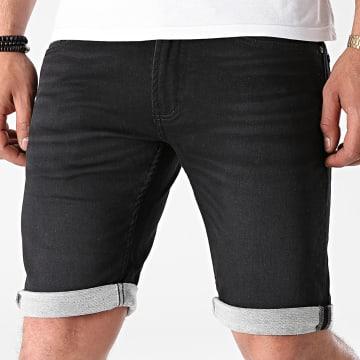 Indicode Jeans - Short Jean Commercial Noir