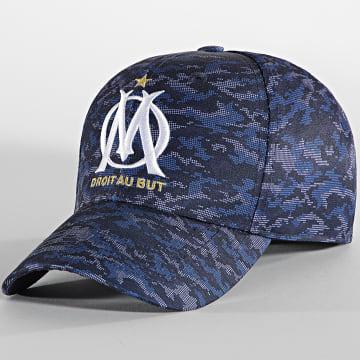 OM - Casquette M19089 Bleu Marine