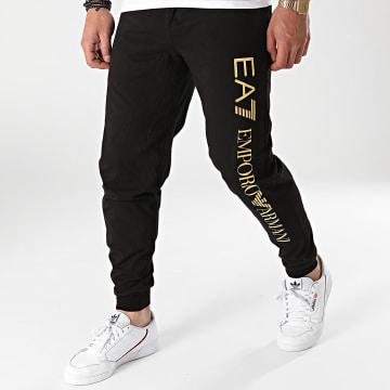 EA7 Emporio Armani - Pantalon Jogging 8NPP54-PJ7BZ Noir Doré
