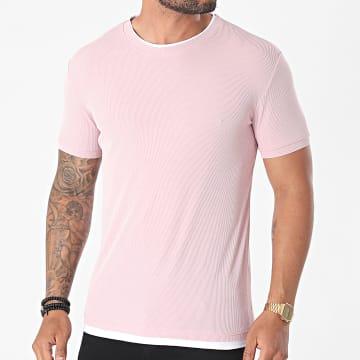 Frilivin - Tee Shirt U5398 Rose