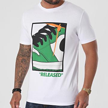 Luxury Lovers - Tee Shirt Released Blanc Vert