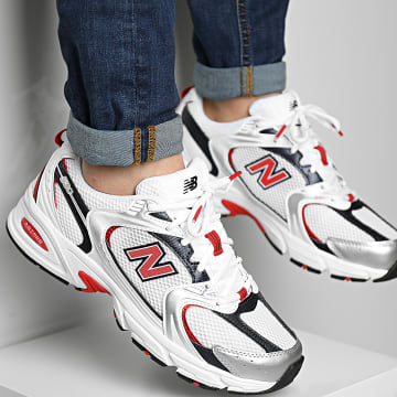 New Balance - Baskets Running 530 MR530UIX White Red