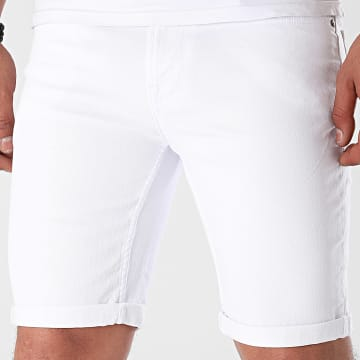Only And Sons - Short Jean Ply Life 22019065 Blanc