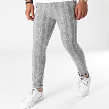 Uniplay - Pantalon A Carreaux 012 Gris