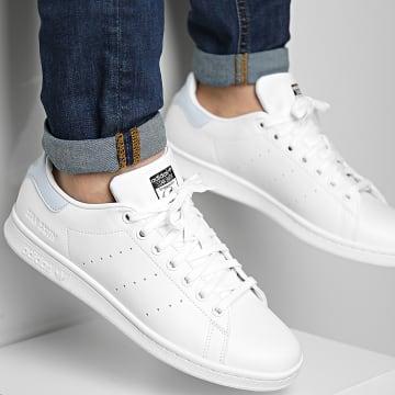 Adidas Originals - Baskets Stan Smith FX5579 Cloud White Core Black Halo Blue