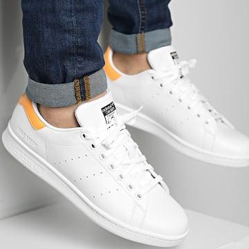 Adidas Originals - Baskets Stan Smith FX5581 Cloud White Hazy Orange Core Black