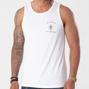Anthill - Débardeur Chest Logo Blanc
