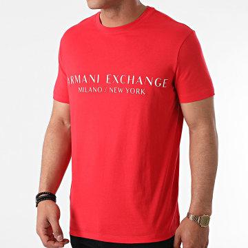 Armani Exchange - Tee Shirt 8NZT72-Z8H4Z Rouge