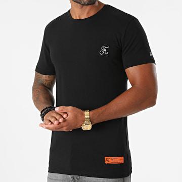 Final Club - Tee Shirt Premium Fit Avec Broderie 697 Noir
