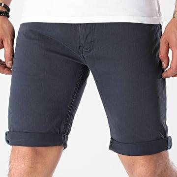 Indicode Jeans - Short Jean Slim Villeurbanne Box 70-346 Bleu Marine