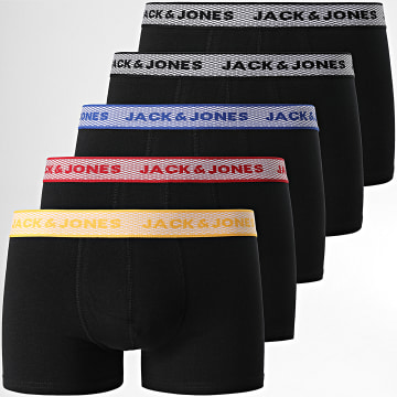 Jack And Jones - Lot De 5 Boxers Carl 12184851 Noir