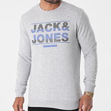 Jack And Jones - Sweat Crewneck Mount Gris Chiné