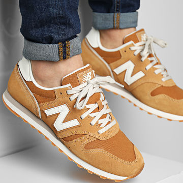 New Balance - Baskets Classics 373 ML373SM2 Camel