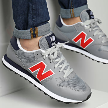 New Balance - Baskets Lifestyle 500 GM500TB1 Grey