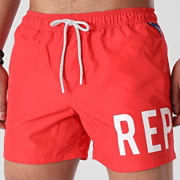 Replay - Short De Bain LM1077-82972R Rouge