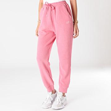Sixth June - Pantalon Jogging Femme W32834KPA Rose