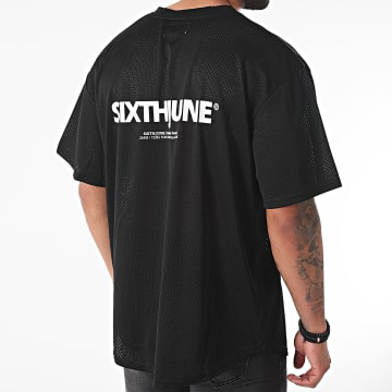 Sixth June - Tee Shirt Col V M4191VTS Noir