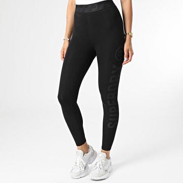 Superdry - Legging Femme Essential W7010454A Noir