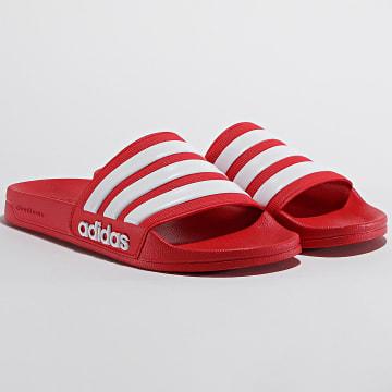 Adidas Performance - Claquettes Adilette Shower AQ1705 Rouge