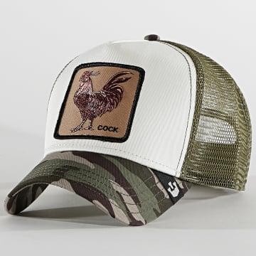 Goorin Bros - Casquette Trucker Cock Vert Kaki Camo