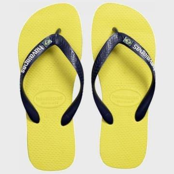 Havaianas - Tongs Brasil Layers Jaune