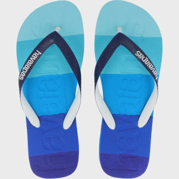 Havaianas - Tongs Logo Mania 4146364 Dégradé Bleu