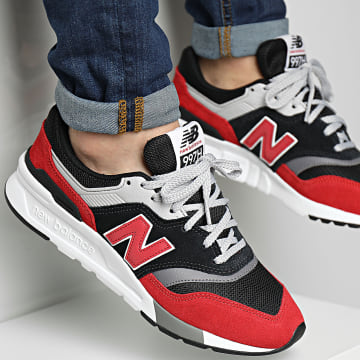 New Balance - Baskets Classics 997 CM997HVP Black Red