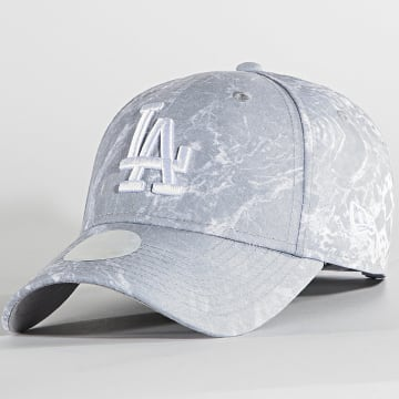 New Era - Casquette Femme 9Forty Marble 60137501 Los Angeles Dodgers Gris