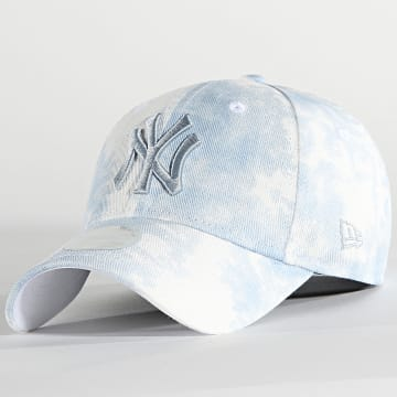 New Era - Casquette Femme 9Forty Denim Colour 60137760 New York Yankees Bleu Wash