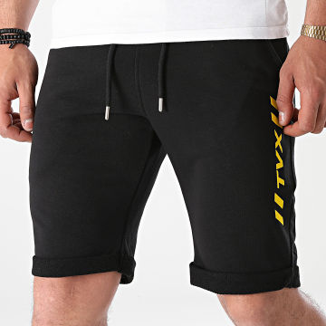 13 Block - Short Jogging TVX Leg Noir Jaune