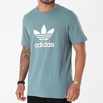 Adidas Originals - Tee Shirt Trefoil GN3483 Vert