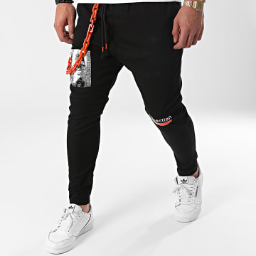 Classic Series - Pantalon Chino 3425 Noir