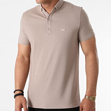 Classic Series - Polo Manches Courtes 1104 Taupe
