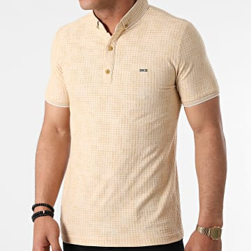 Classic Series - Polo Manches Courtes 1083 Beige Chiné