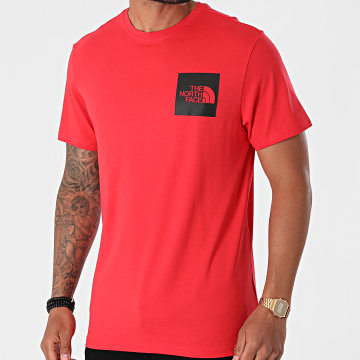 The North Face - Tee Shirt Fine 0CEQ5 Rouge