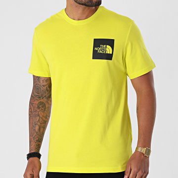 The North Face - Tee Shirt Fine 0CEQ5 Vert Clair