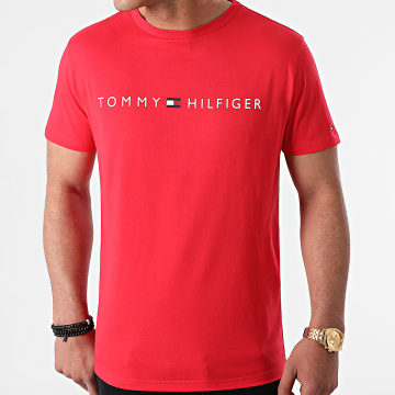Tommy Hilfiger - Tee Shirt CN Logo 1434 Rouge