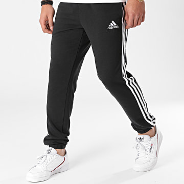 Adidas Performance - Pantalon Jogging A Bandes Essentials French Terry Tapered GK8829 Noir