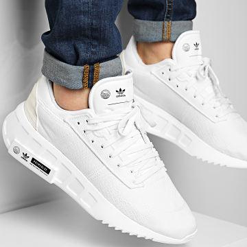 Adidas Originals - Baskets Geodiver Primeblue FX5079 Cloud White Core Black